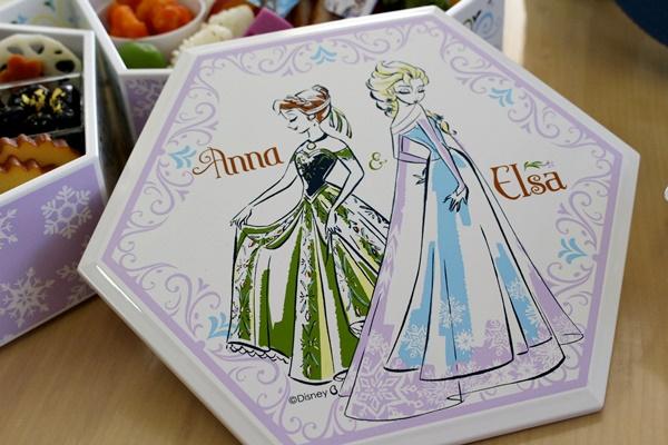 アナと雪の女王 三段重