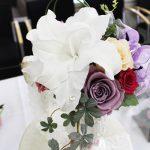 結婚のお祝いにおすすめ 純白のカサブランカが美しいプリザーブドフラワー