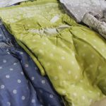 暑い夏はブラなしでOKのインナーカップつきパジャマで涼しく朝家事
