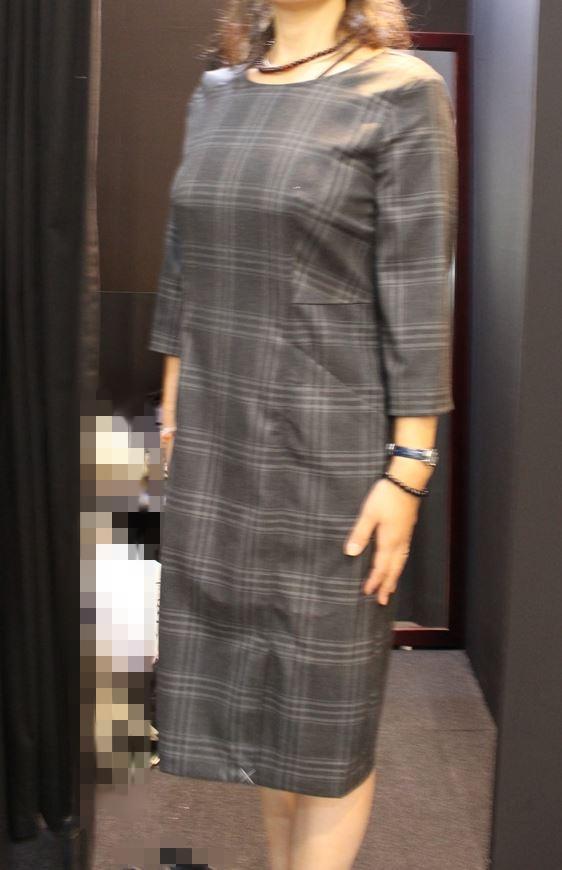 美型シルエット・スムーズストレッチ・ドレス