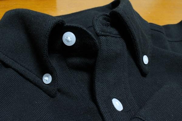 綿100%ボタンダウンシャツ