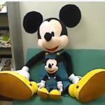 ベルメゾンでしか買えないレア中のレア!復刻版オーバーオールのミッキーマウス