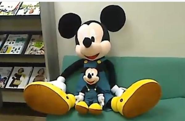 カタログ創刊25周年記念の限定復刻デザイン ミッキーマウス