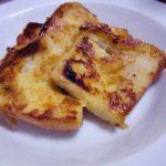 土井善晴さんのフレンチトーストを作ったよ。中はしっとりもっちり、外はカリっと超おいしい