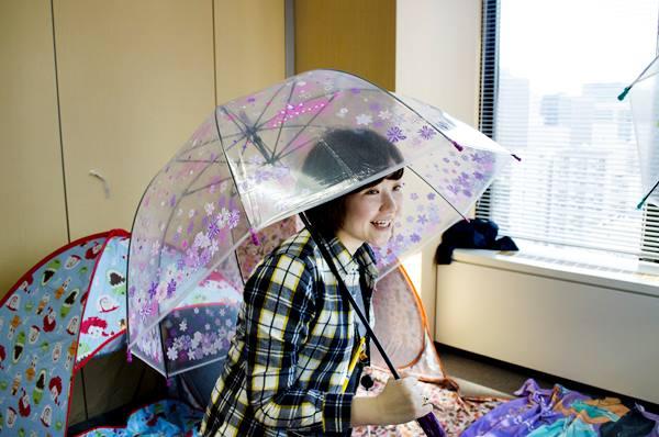 ディズニードーム型ビニール傘