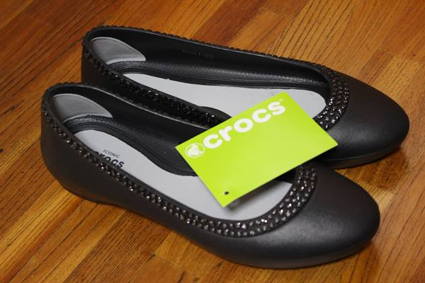 Women's Crocs Lina Diamante Flat
