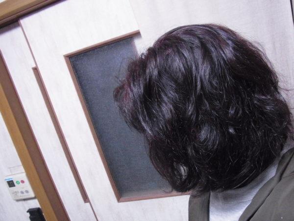 ミネコラ使用前のくせ毛