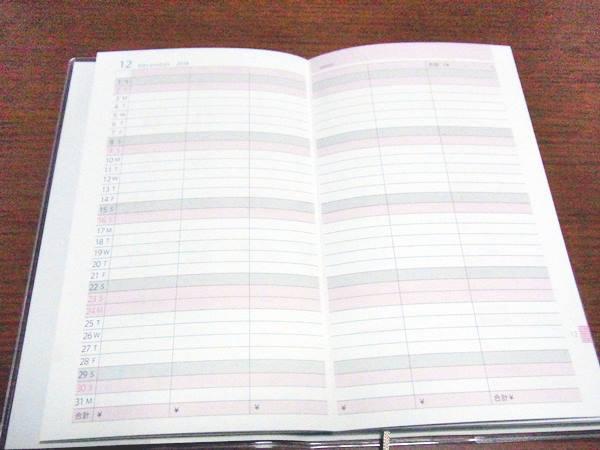 1日1行書くだけで貯まる! お金と予定がパパッと書ける手帳