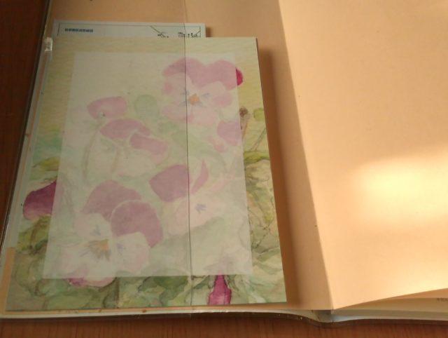手帳とメモ紙