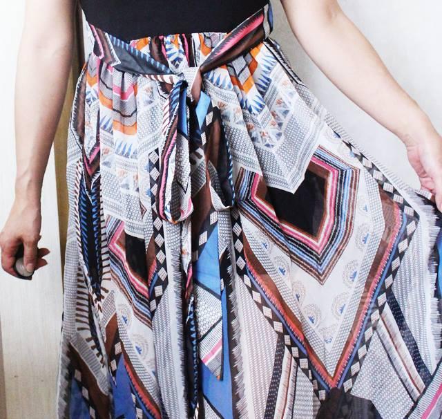 ワンピーススカート部分